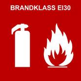 Brandklass EI30 (Polardörren)