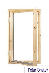 Polarfönster 1-luft 2-glas Obehandlat