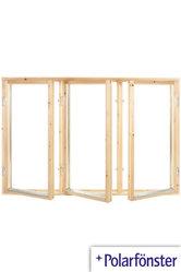 Polarfönster 3-luft 2-glas Obehandlat