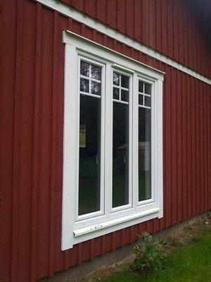 PVC fönster 3-luft (dk-d-dk) 2-glas