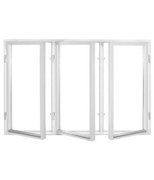 Polarfönster 3-luft 2-glas Vit