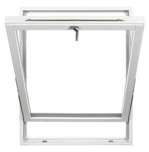 Polarfönster Vridfönster 3-glas Trä