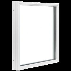 Polarfönster Fast 3-glas Trä