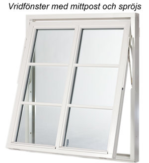 Polarfönster Vrid Superenergifönster 0,86