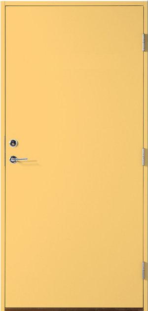 Kulör enkeldörr